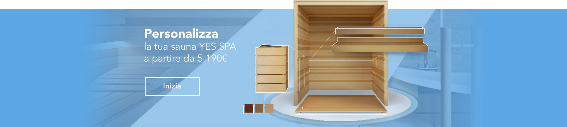 Configura la tua sauna