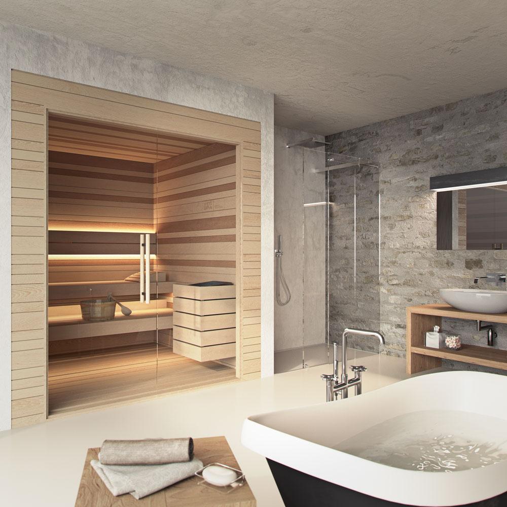 angolo con sauna per la tua casa yes spa